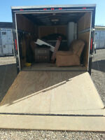 2 Guys and 2 Large Trailers for Local Moves!