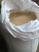 Grinded / chopped barley or oats feed in mini bulk bags