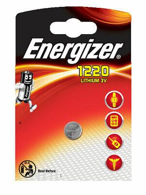 1 x Energizer CR1220 3V Lithium Batterie Knopfzelle 37mAh im Blister Energizer Lithium-batterien