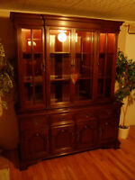 Beautiful China Hutch by Gibbard