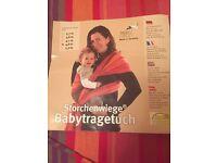Storchenwiege baby sling wrap