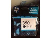 Hp 350 black cartridge