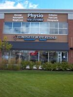 Physiotherapy Chiropractic Massage Nautropath unit for lease.