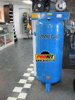 compresseur 60 gallons, 240 volts - NEUF liquidation!