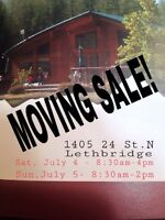 Garage/Moving Sale
