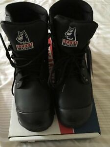 Steel Blue Steel Toe Work Boots Brand New In Box Black Leather Madora Bay Mandurah Area Preview
