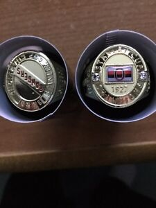 Stanley cup ring Ottawa and Rangers