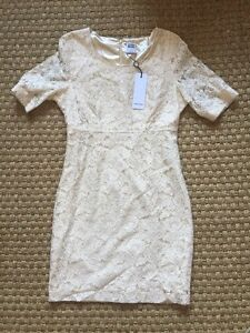 Robe Vero Moda écru - 38 - Neuve