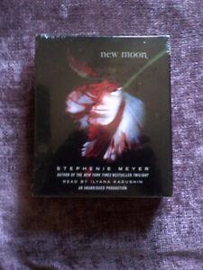 NEW MOON  novel Cd, read by Ilyana Kadushin