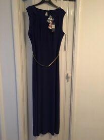Colbolt blue long dress