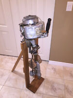 OLD VINTAGE JOHNSON PETERBORO OUTBOARD MOTOR - OBO