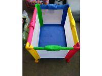 Baby travel cot crib play pen