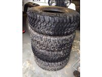 Off road 4x4 monster ruck tyres 37 / 12.50 / 17