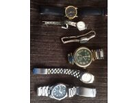 Joblot of faulty/working watches