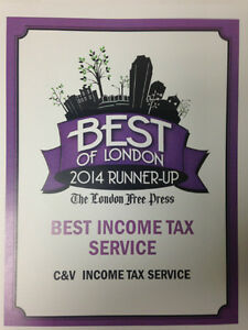 VOTED ONE OF LONDONS BEST TAX COMPANIES - OPEN YEAR ROUND !!! London Ontario image 3