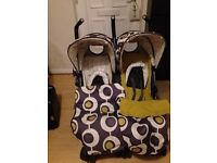 """Double pushchair """"cosatto"""""""