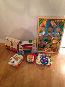 Lot de jouets enfants