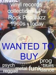 WANTED VINYL RECORDS COLLECTIONS