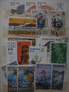 Selling My Stamp Collection, Hong Kong Lot # 2