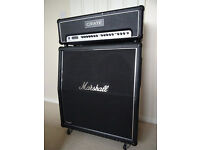 Half Stack: Crate Flexwave 120H & Marshall Mode Four Cab MF400A