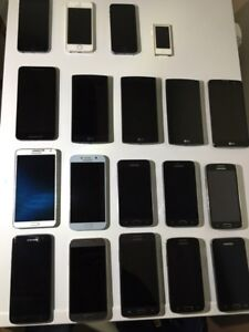 Cellphones for sale iPhone LG and Samsung