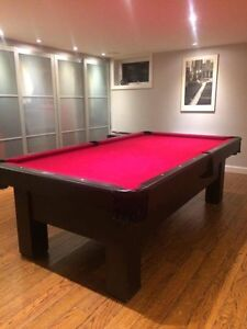Pool Table - Black Beauty