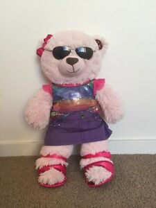 Build-a-bear Pink bear with full outfit Maudsland Gold Coast West Preview