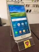GREAT CONDITION GALAXY S5 16GB White UNLOCKED & WARRANTY Chermside Brisbane North East Preview