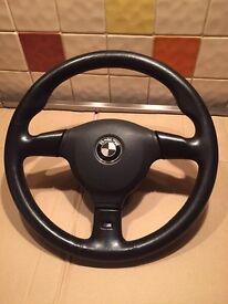 Bmw m tech steering wheel genuine