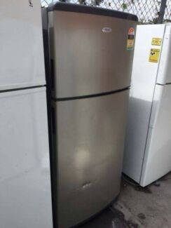 Nice 4.5 star 410 liter stianless steel whirlpool fridge , can de