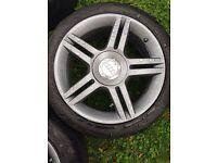 Audi s-line alloy wheels