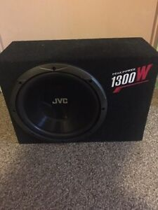 Sub and amp 450$ OBO
