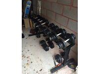 Set of 5-35kg Dumbbells