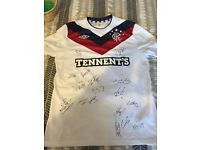 Signed rangers top