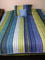Twin / Double Bedspread includes Pillow Sham