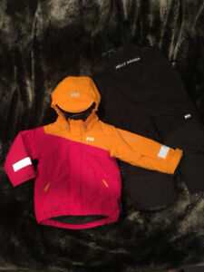 Helly Hansen Jacket and SkiPants. Size 2 Toddler.