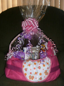 """I make & Sell Baby Shower Gifts Ex.""""Diaper Basket of Essentials"""""""