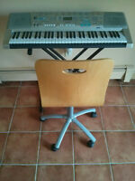 LX300TV Casio Keyboard/Stand/Chair