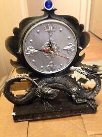 Dragon clock ornament