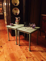 2 Beautiful Queen Anne Style Side Tables/Night Stands