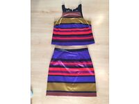 River Island matching top and skirt for sale.
