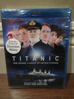 TITANIC ONE VOYAGE A WORLD OF UNTOLD STORIES BLU RAY *SEALED *