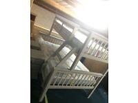Triple sleeper bunk beds £240 single bunks £180 solid wood