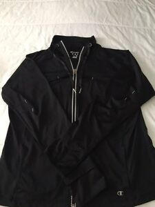 Champion zip up xlarge great for running $5