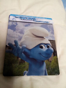 The Smurfs - Blu-ray Steelbook 3 Disc Set.