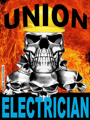 Union-electrician-sticker Ce-17