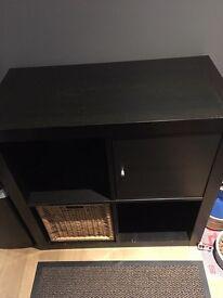 IKEA Kallax Expedit black brown unit