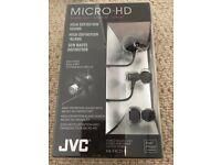 JVC stereo in-ear headphones. Brand new