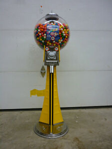 $300 Beaver Meridian Vending Machine (Used) with 850 Gumballs