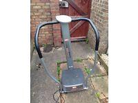 Vibro exercise machine